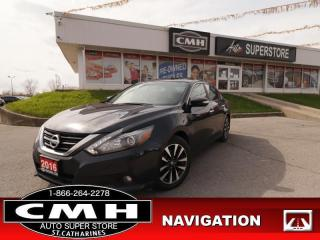 Used 2016 Nissan Altima 2.5 SL Tech  NAV ROOF LEATH CAM P/SEAT for sale in St. Catharines, ON