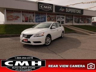 Used 2015 Nissan Sentra SV  REAR-CAM HEATED-SEATS BT ALLOYS for sale in St. Catharines, ON