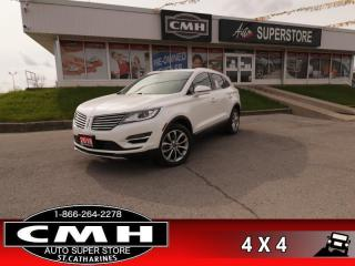 Used 2018 Lincoln MKC Select AWD  AWD PANO-ROOF P/SEATS P/GATE for sale in St. Catharines, ON