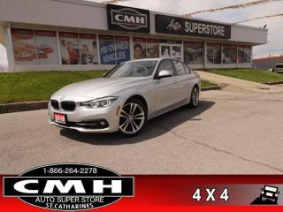 Used 2018 BMW 3 Series 330i xDrive Sedan for sale in St. Catharines, ON