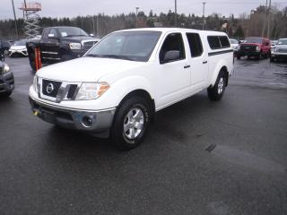 Used 2011 Nissan Frontier Crew Cab 4WD Short Box with Canopy for sale in Burnaby, BC