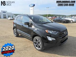 New 2020 Ford EcoSport SES 4WD  - Activex Seats -  Heated Seats for sale in Paradise Hill, SK