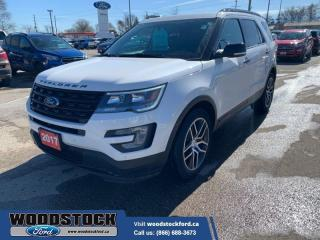 Used 2017 Ford Explorer Sport  - Trade-in - One owner for sale in Woodstock, ON