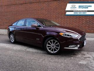 Used 2018 Ford Fusion Energi PLUG-IN HYBRID | TRADE IN | TITANIUM PACKAGE | NAV  - $131 B/W for sale in Brantford, ON