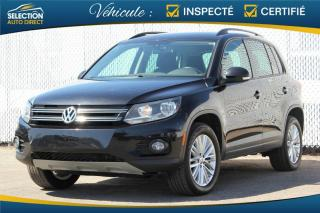 Used 2016 Volkswagen Tiguan Special Edition 4MOTION for sale in Ste-Rose, QC
