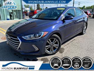 Used 2017 Hyundai Elantra GL APPLE CARPLAY, VOLANT CHAUFFANT, BANC for sale in Blainville, QC