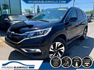 Used 2016 Honda CR-V TOURING AWD DÉMAR DIST, CUIR, TOIT, NAVI for sale in Blainville, QC