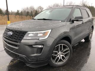 Used 2018 Ford Explorer Sport 4WD for sale in Cayuga, ON