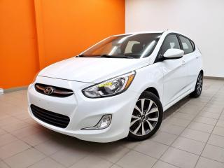 Used 2017 Hyundai Accent SE BLUETOOTH SIÈGES CHAUFFANTS *TOIT OUVRANT* for sale in St-Jérôme, QC