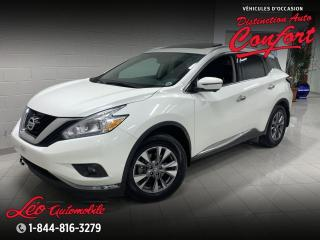 Used 2017 Nissan Murano SL, AWD*cuir**toit ouvrant**GPS* for sale in Chicoutimi, QC