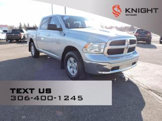 Used 2018 RAM 1500 SLT | B/U Camera | Rear AC/Heat | Rear Power Sliding Window | Front Center Seat | Flex Fuel for sale in Weyburn, SK