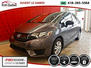 Used 2016 Honda Fit DX* CAMERA* GROUPE ELECTRIQUE* for sale in Québec, QC