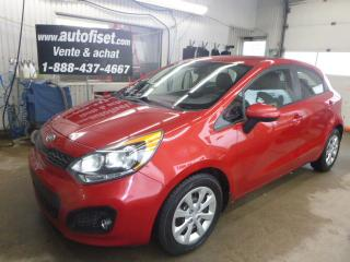 Used 2012 Kia Rio 5dr HB Auto LX+ for sale in St-Raymond, QC