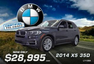 Used 2014 BMW X5 35D for sale in Watrous, SK