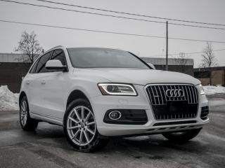 Used 2016 Audi Q5 2.0T Technik I NAV I Pano roof I Great Condition for sale in Toronto, ON
