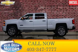 Used 2017 Chevrolet Silverado 2500 HD 4x4 Crew Cab High Country Diesel for sale in Red Deer, AB