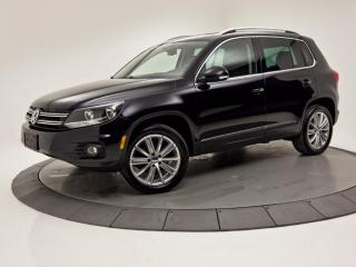 Used 2014 Volkswagen Tiguan 4MOTION Highline CUIR TOIT GPS 4X4 for sale in Brossard, QC