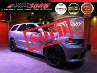 Used 2019 Dodge Durango GT AWD - DVD x2, S.Roof, Htd Lthr!! for sale in Winnipeg, MB