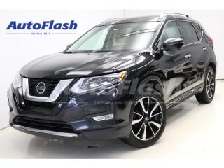 Used 2017 Nissan Rogue SL *Platinum *Cuir-brun *Blind-Spot *Adapt-Cruise for sale in St-Hubert, QC