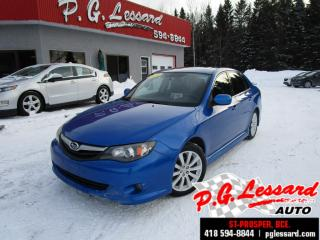 Used 2011 Subaru Impreza 2.5i limited awd cuir toit manuel for sale in St-Prosper, QC