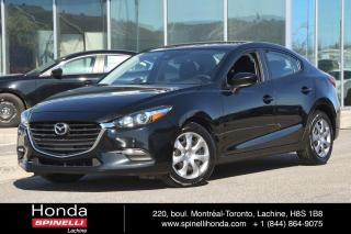 Used 2018 Mazda MAZDA3 GX  AUTO CAMERA RECUL AC*AUTO*BLUETOOTH*CAMERA*++ for sale in Lachine, QC