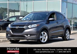 Used 2016 Honda HR-V EX-L w/NAVI CUIR TOIT NAVI*CUIR*TOIT*CAMERA*BLUETOOTH*++ for sale in Lachine, QC