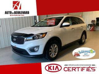 Used 2017 Kia Sorento LX+ V6 3.3L AWD 7X PASS TOUT EQUIPE for sale in Notre-Dame-des-Pins, QC