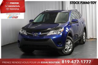 Used 2015 Toyota RAV4 INTÉGRALE| GROUPE AMÉLIORÉ| CAM RECUL for sale in Drummondville, QC