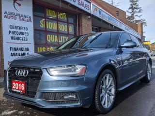 Used 2016 Audi A4 CLEARANCE - PROGRESSIV +, AWD, NAV,CAM for sale in Burlington, ON
