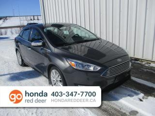 Used 2016 Ford Focus Titanium Navigation Remote Start for sale in Red Deer, AB