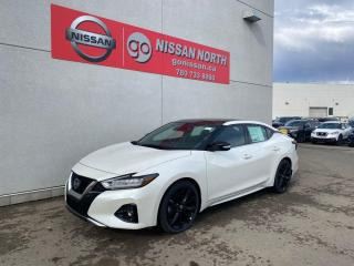 New 2020 Nissan Maxima DEMO CLEAR OUT/ SR 4dr FWD Sedan for sale in Edmonton, AB