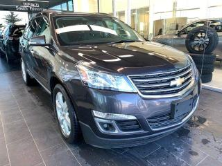 Used 2016 Chevrolet Traverse LT, AWD, 7 SEATER, REAR-VIEW CAMERA, HEATED SEATS for sale in Edmonton, AB