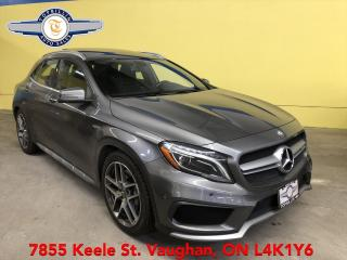 Used 2015 Mercedes-Benz GLA GLA 45 AMG 4Matic, Clean CARFAX for sale in Vaughan, ON