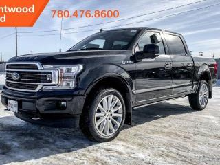 New 2020 Ford F-150 LIMITED 900A 4X4 3.5L V6 Ecoboost, Power Heated/Ventilated Leather Seats, Auto Start/Stop, Lane Keeping System, Pre-Collision Assist, Navigation, Rear View Camera, Remote Keyless Entry/Keypad, Remote for sale in Edmonton, AB