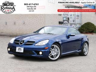 Used 2008 Mercedes-Benz SLK 2dr Roadster 5.5L AMG Convertible w/Navi_Low KMs for sale in Oakville, ON