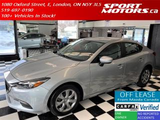 Used 2018 Mazda MAZDA3 GX+New Tires+Camera+Cruise+Accident Free for sale in London, ON