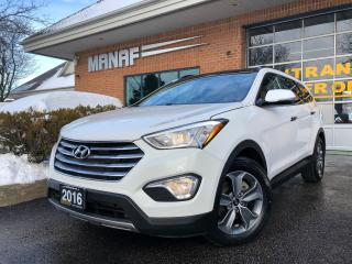 Used 2016 Hyundai Santa Fe XL AWD 3.3L Sunroof 7-Passenger R.Starter R.Cam Cert* for sale in Concord, ON