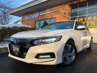 Used 2018 Honda Accord EX-EX-L Sunroof R.Cam R.Starter Lane Dept. Certifi for sale in Concord, ON