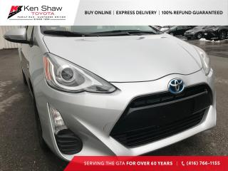 Used 2016 Toyota Prius c | NO ACCIDENTS | SPOILER | BRAKE ASSIST | for sale in Toronto, ON