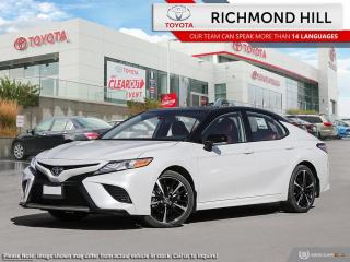 New 2020 Toyota Camry XSE  -  Sunroof -  Navigation - $136.38 /Wk for sale in Richmond Hill, ON
