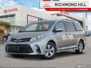 New 2020 Toyota Sienna LE 8-Passenger  - Heated Seats - $124.09 /Wk for sale in Richmond Hill, ON