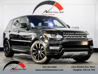 Used 2016 Land Rover Range Rover Sport Td6 HSE|Navigation|Pano Roof|Heated Cooled Leather|Meridian for sale in Vaughan, ON