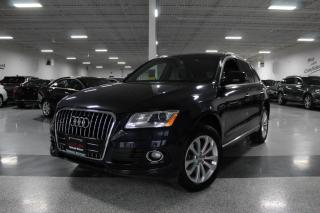 Used 2016 Audi Q5 PROGRESSIV I LEATHER I PANOROOF I PUSH START I HEATED SEATS for sale in Mississauga, ON