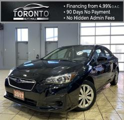 Used 2017 Subaru Impreza 2.0i 4-Door Backup Camera Bluetooth AWD for sale in North York, ON