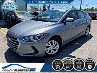 Used 2017 Hyundai Elantra LE, AIR CLIM, AUTO, BANCS CHAUFFANTS, BL for sale in Blainville, QC