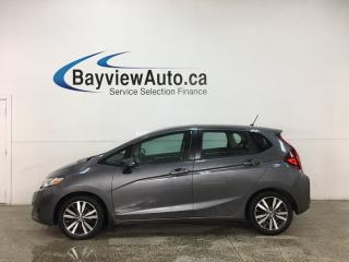 Used 2016 Honda Fit EX - 6SPD! MOONROOF! FULL PWR GROUP! ALLOYS! for sale in Belleville, ON