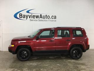 Used 2017 Jeep Patriot Sport/North - 4X4! ALLOYS! for sale in Belleville, ON