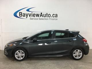 Used 2017 Chevrolet Cruze LT Auto - AUTO! A/C! BIG SCREEN! ALLOYS! for sale in Belleville, ON