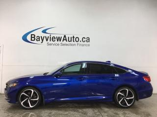 Used 2018 Honda Accord Sport - ROOF! BIG SCREEN! + MORE! for sale in Belleville, ON