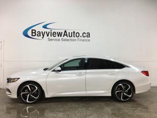 Used 2018 Honda Accord Sport - ONLY 7000KMS! SUNROOF! ADAPTIVE CRUISE! HONDA LINK! + MUCH MORE! for sale in Belleville, ON
